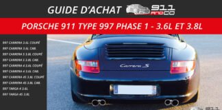 guide d'achat porsche 911 Type 997 Carrera Phase 1