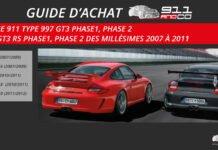 guide achat porsche 911 Type 997 GT3 et 997 GT3 RS